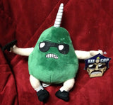Axe Cop Avocado Soldier Plush Figure Gun Unicorn Horn Magical Sunglasses Mezco