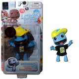 Mezco 2011 SDCC Comic Con Exclusive Sackboy Blue Denim Little Big Planet Figure