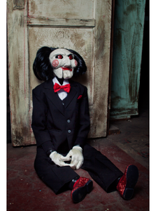"Trick Or Treat Studios Saw Billy Hand Puppet Quality Movie Style 47"" Prop"