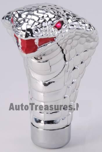 Car Cobra Lighted RED Shift Knob Truck Shifter Snake Death Race Viper LED Eyes