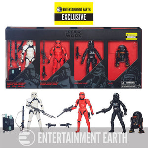 "Hasbro Star Wars Black Series 6"" Imperial Forces Exclusive Action Figure 4 R2-Q5 Stormtroopers"