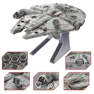 Hot Wheels Elite Star Wars Millennium Falcon Return Of The Jedi Die Cast Episode VI