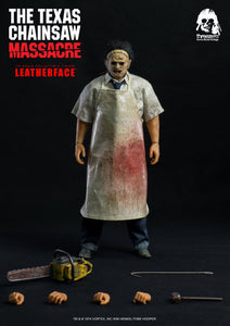 ThreeZero Texas Chainsaw Massacre Leatherface 1/6 Detailed 1974 Movie Action Figure