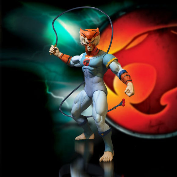 Thundercats Mezco Tygra with Whip Action Figures 13