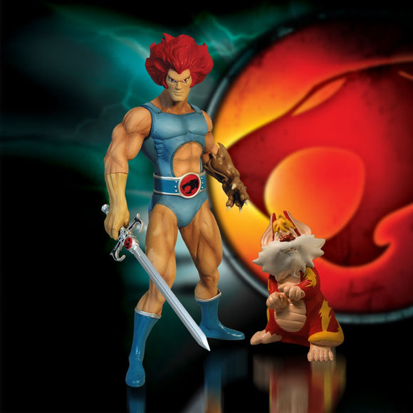 Thundercats Mezco Lion-O and Snarf Action Figures 14