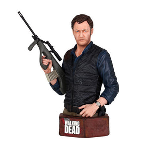 The Walking Dead Governor Limited Edition Mini Bust Hand Painted Zombie Phillip Blake 1264 Made