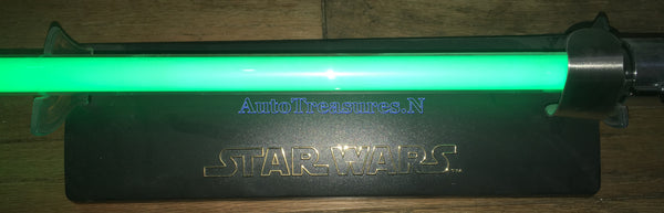 Star Wars Yoda Force Awakens FX Lightsaber Jedi Replica Lighted Sound Movie Prop Hasbro