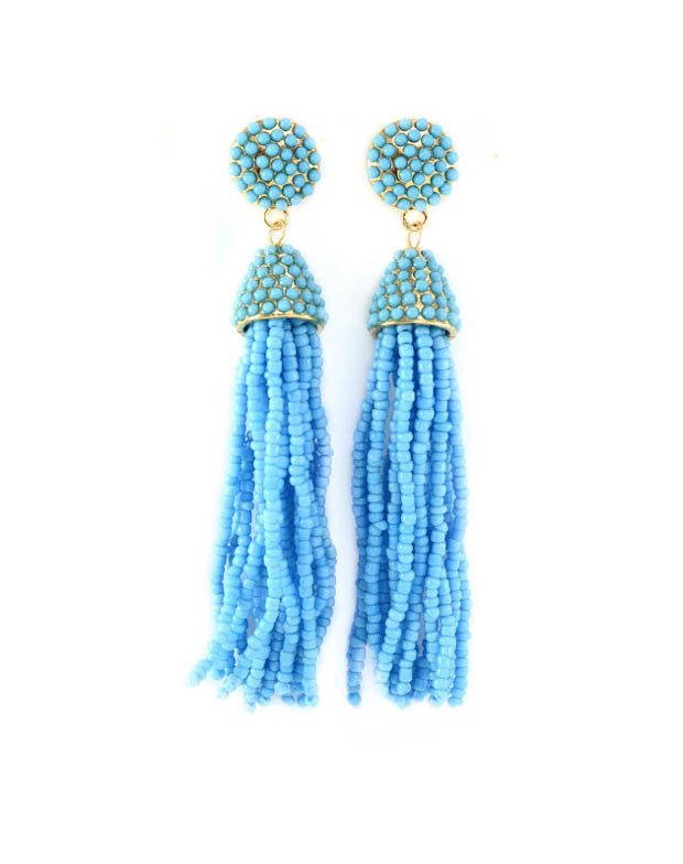 Santa Fe Earrings- Turquoise