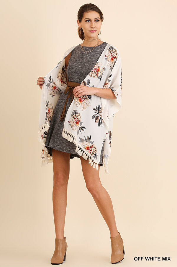 April Showers Kimono