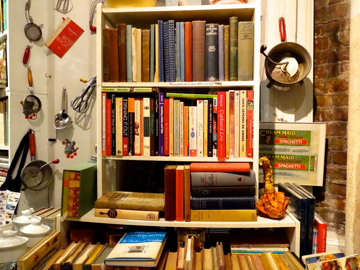 Bonnie Slotnick's Cookbooks