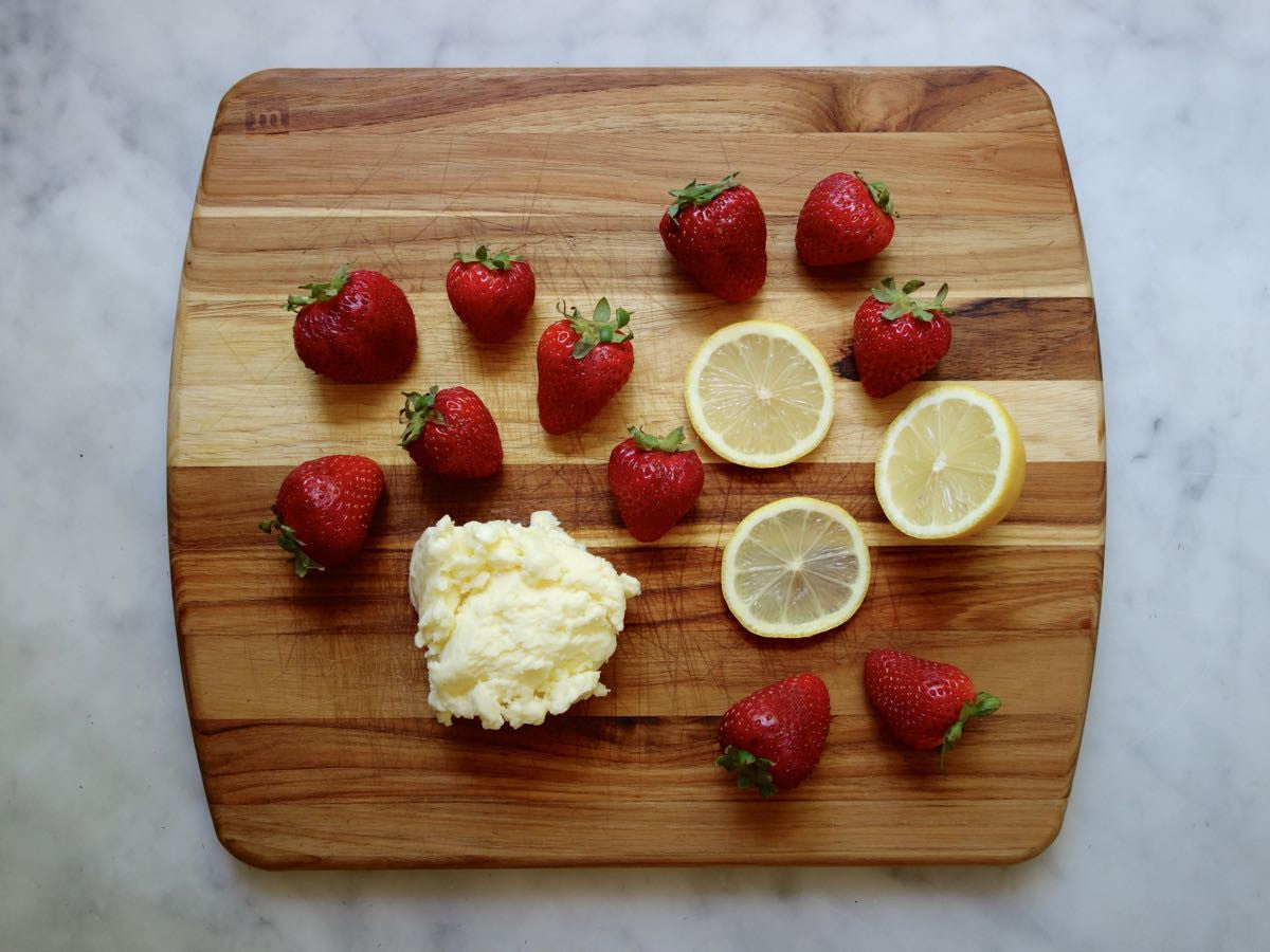 Strawberry Lemon Butter