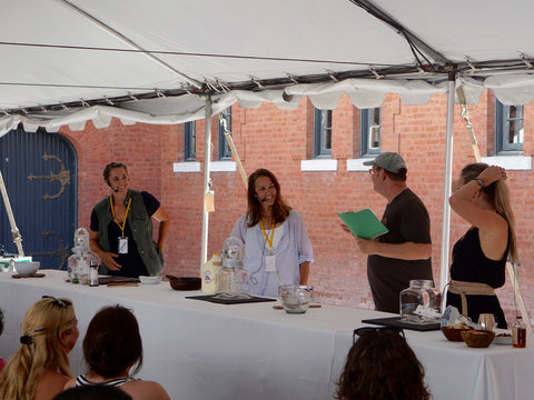 Churncraft Demo at VT Cheesemakers Festival