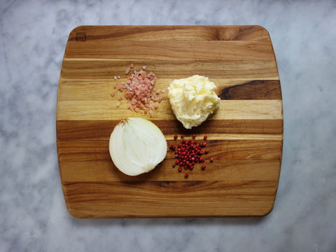 Caramelized Onion Pink Peppercorn Butter