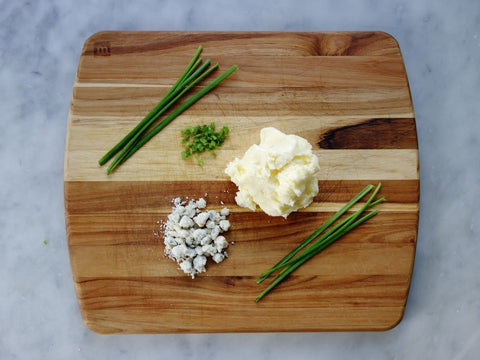 Gorgonzola Chive Butter
