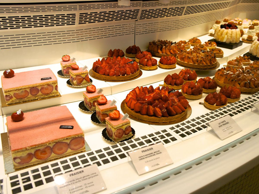 Patisserie at la grande epicerie