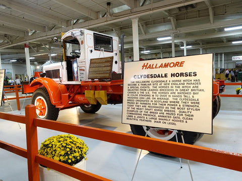 Hallamore truck at the Big E