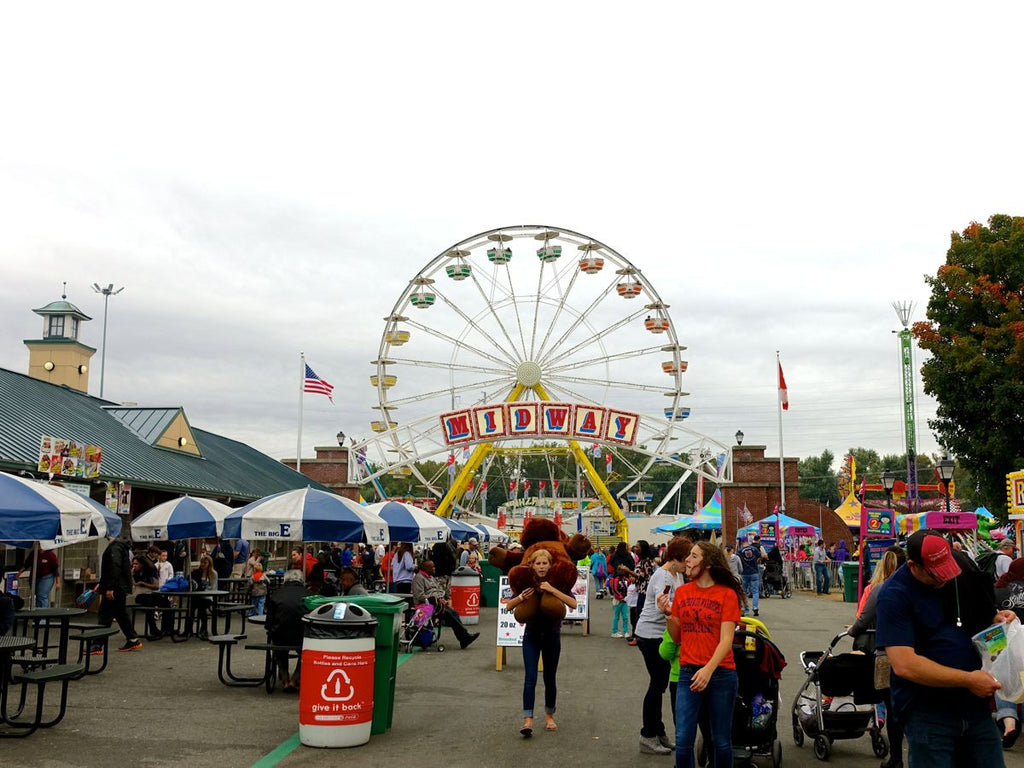 The Big E carousel