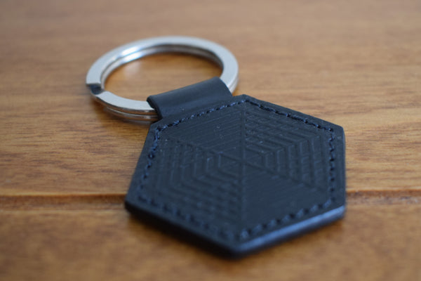Staining - embossed Keyring