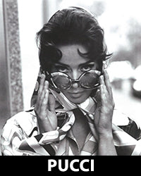 Emilio Pucci Vintage eyewear collection