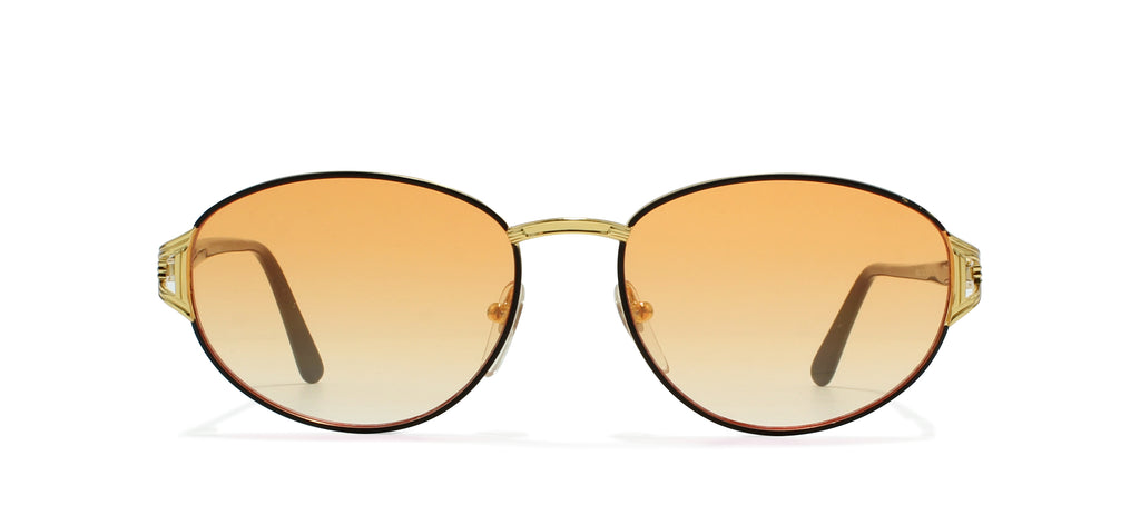 72f4854f39c Gianni Versace G28 Round Certified Vintage Sunglasses   Kings of Past