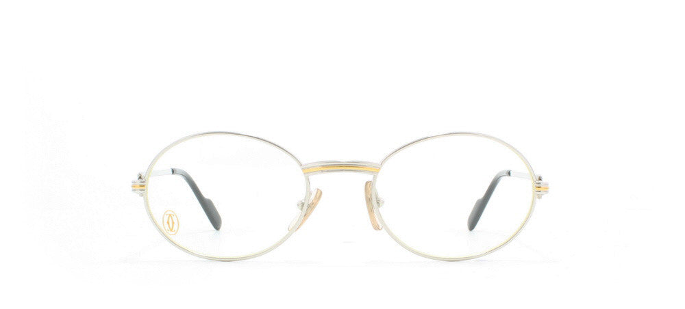 2187f933bf59 Cartier St Honore T8100.266 Oval Certified Vintage Eyeglasses Frame ...