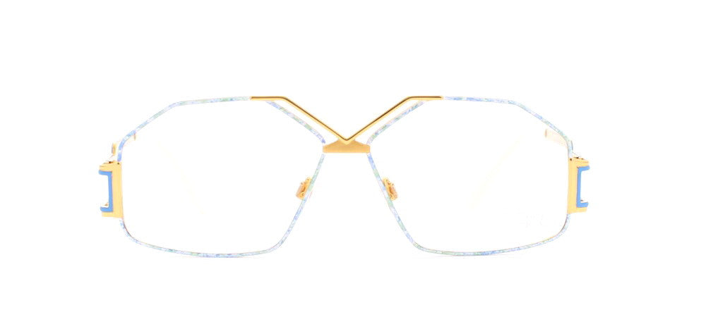 6ee30f49581 Cazal 234 Rectangular Certified Vintage Eyeglasses Frame   Kings of Past