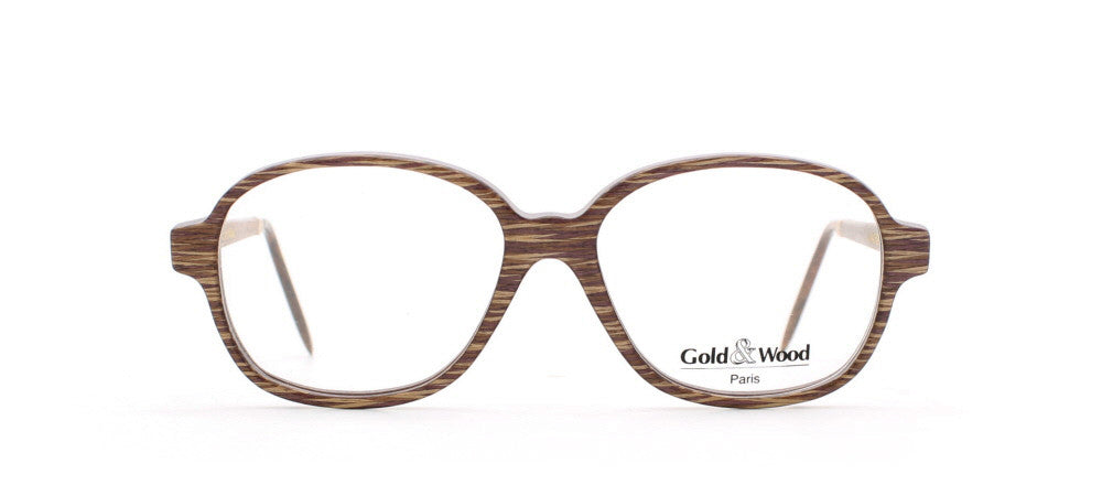 Vintage,Vintage Sunglasses,Vintage Gold & Wood Sunglasses,Gold & Wood 1.644 5020,