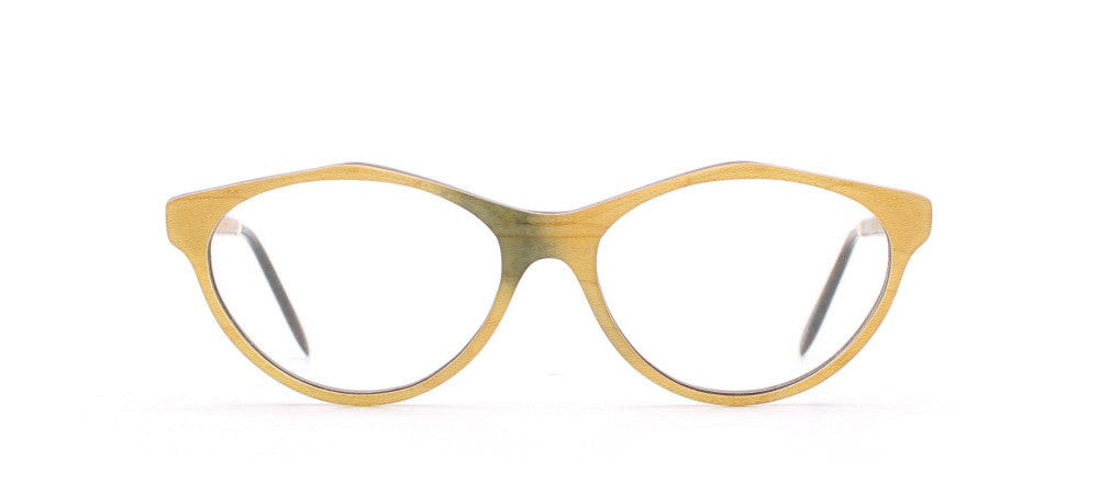 Vintage,Vintage Sunglasses,Vintage Gold & Wood Sunglasses,Gold & Wood 1.717 87,