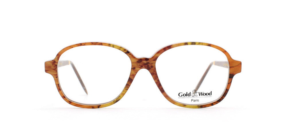 Vintage,Vintage Sunglasses,Vintage Gold & Wood Sunglasses,Gold & Wood 1.744 98,