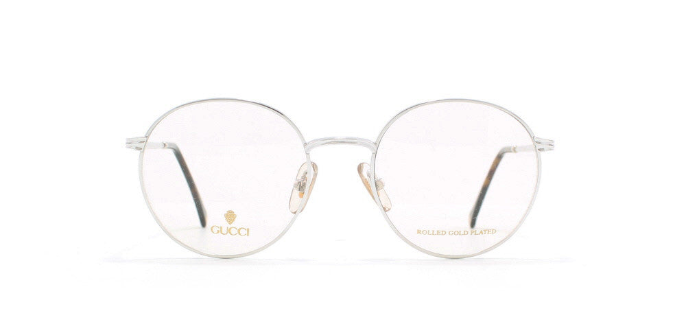 fb439bb82037d Gucci 1273 Round Certified Vintage Eyeglasses Frame   Kings of Past