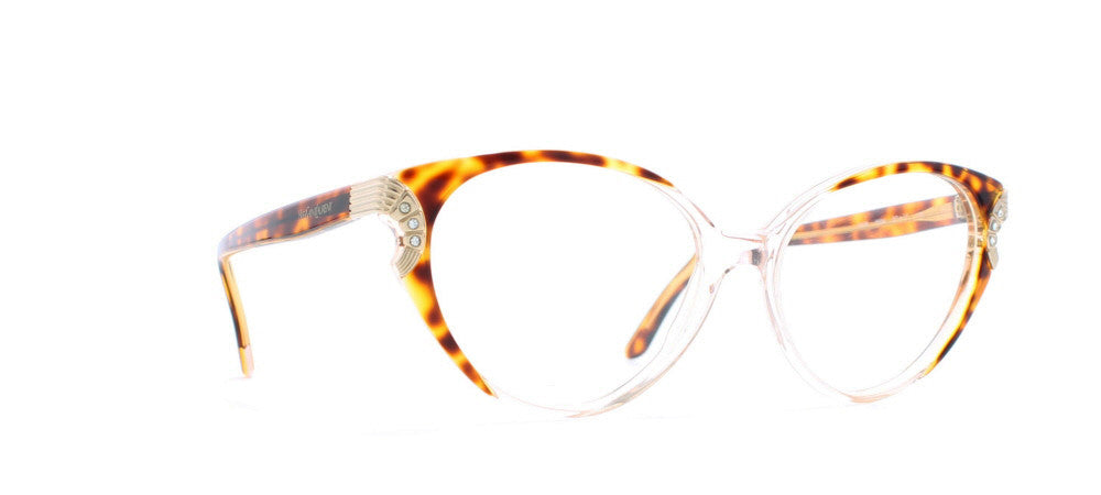 15109bae26 Ysl 5005 CatEye Certified Vintage Eyeglasses Frame   Kings of Past