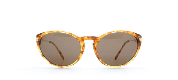 Vintage,Vintage Sunglasses,Vintage Cartier Sunglasses,Cartier Aurore T8200.127 Honey,