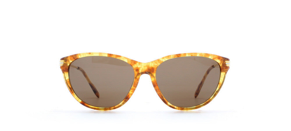 Vintage,Vintage Sunglasses,Vintage Cartier Sunglasses,Cartier Eclat T8200.131 Honey,
