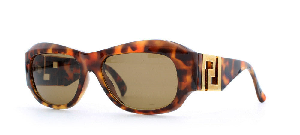 d6c882135a076 Versace T75 Rectangular Certified Vintage Sunglasses   Kings of Past