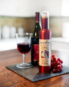 VineyardFresh Wine Preserver - Consumer Can with Wine and Glass