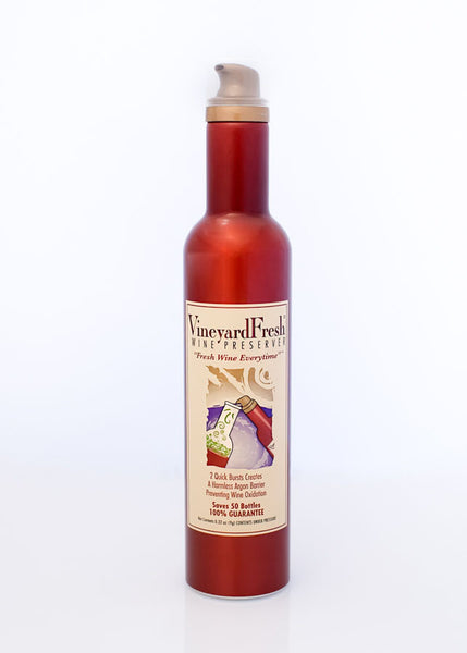 VineyardFresh Wine Preserver - Consumer Single Can