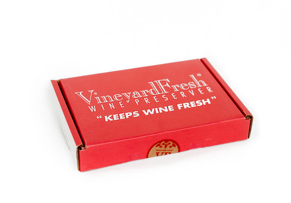 VineyardFresh Wine Preserver - Consumer Travel / Gift Size 2 Pack Gift Box