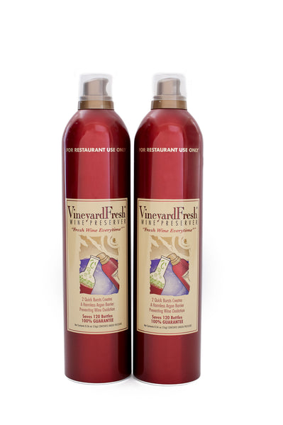 VineyardFresh Wine Preserver - Institutional 2 Pack