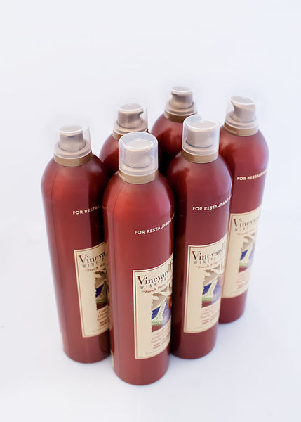 VineyardFresh Wine Preserver - Institutional 6 Pack, Side View