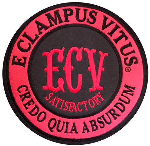 10-Inch ECV Round Back Patch