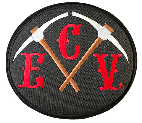 10 X 12 inch ECV Pick Back Patch