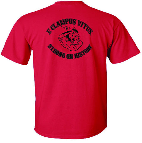 T Shirt Red ECV Strong on History