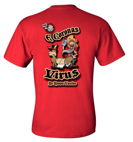 E CORONAS VIRUS Pocket T-shirt