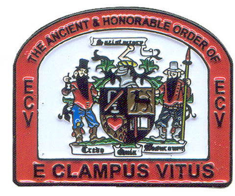 ECV Coat of Arms Pin