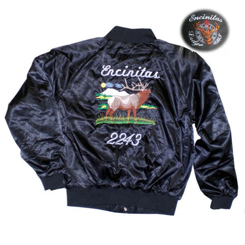Satin Elks Jacket