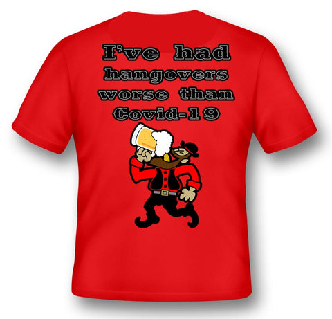 NEW: Covid 19 Hangover Pocket T-shirt