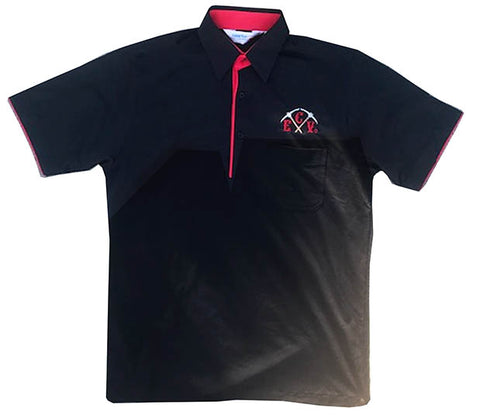 Black ECV Moisture-Wicking Sport Shirt with Pocket