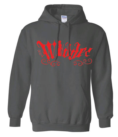 Black Widder Hooded Sweatshirt
