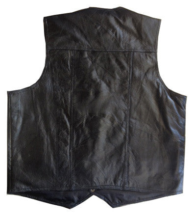 Blank Back Vest w/ Breast Patch