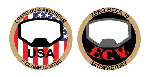 ECV USA 1 3/4-inch Coin and Bottle Opener